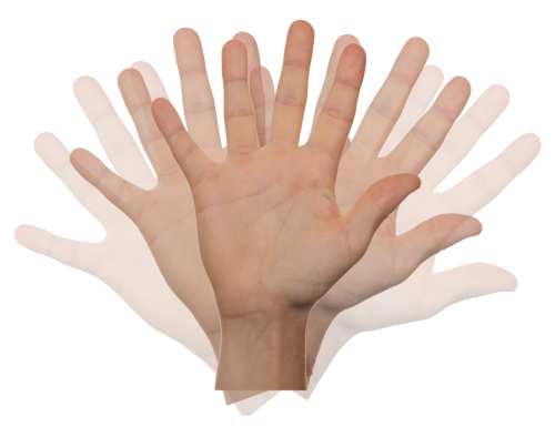 hand wave motion
