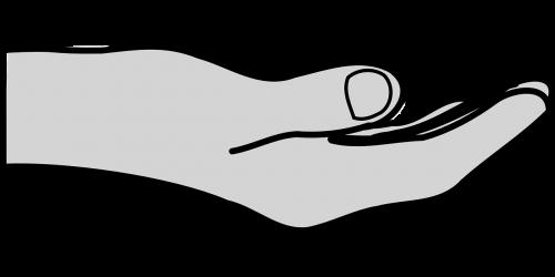 hand sharing share
