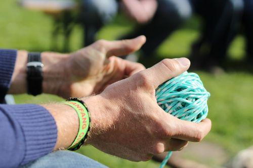 hand yarn cord