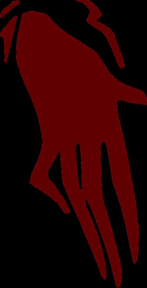 hand horror ghost