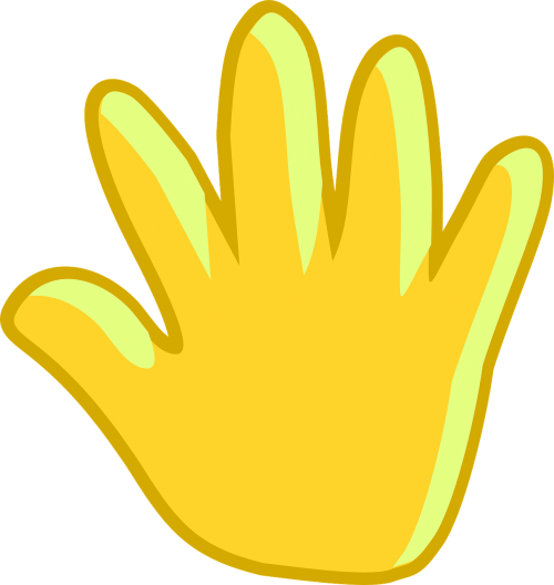 hand palm stop