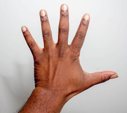 hand finger wrist