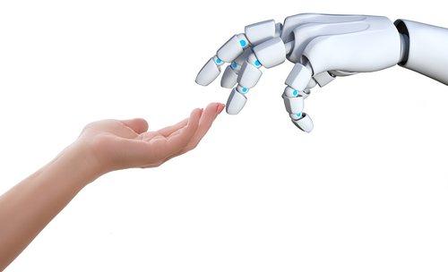 hand  human  robot