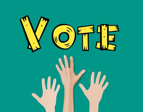hand  raise  vote