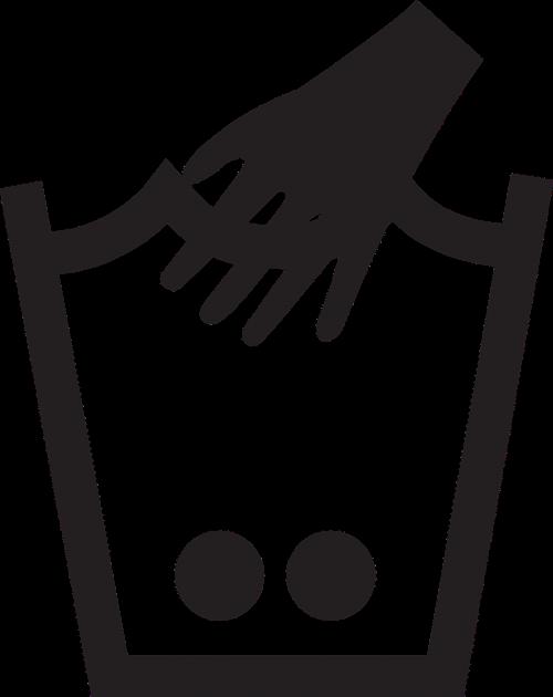 hand laundry washing