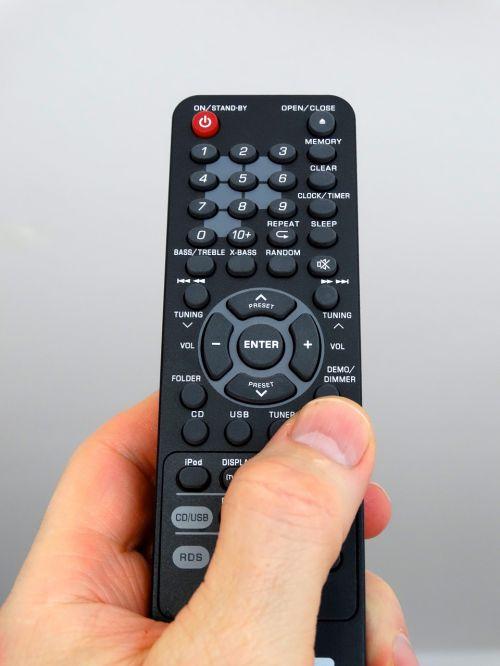 hand remote control control