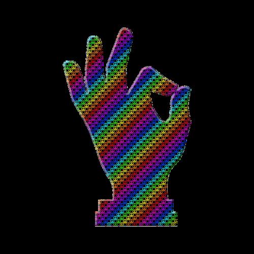 hand symbol okay