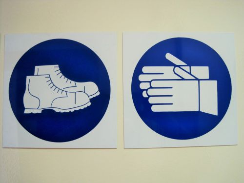Hand And Foot Safety Signs