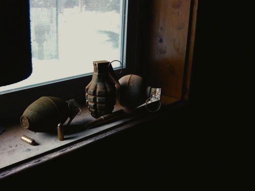 hand grenade grenade bullets