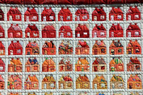 hand labor sew patchwork