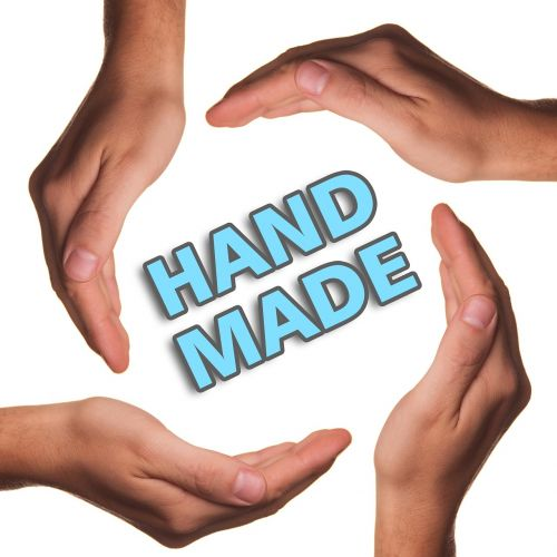 hand made hands product