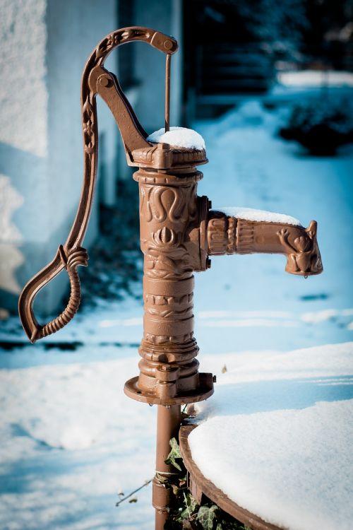 hand pump cock pump fountain pump
