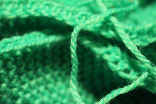 handarbeiten wool green
