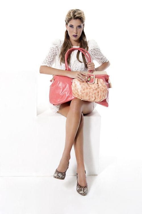 handbag fashion pink