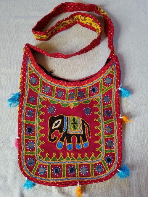 handbag accessories embroidery