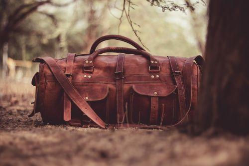 handbag leather brown