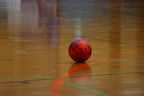 handball  hall floor  resin