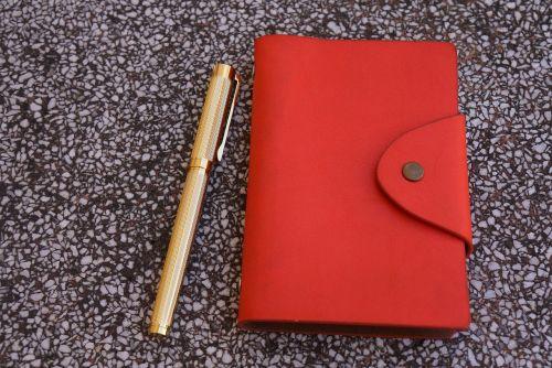 handbook written red