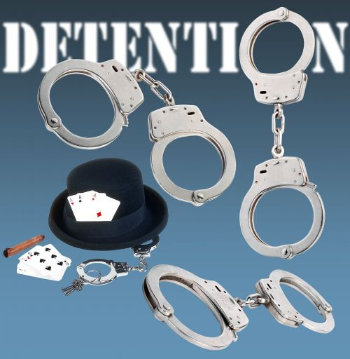 handcuffs detention arrest