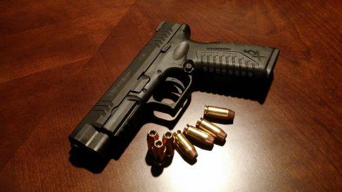 handgun firearms pistol