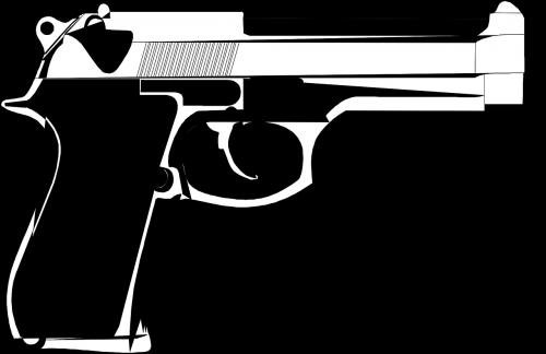 handgun pistol weapon