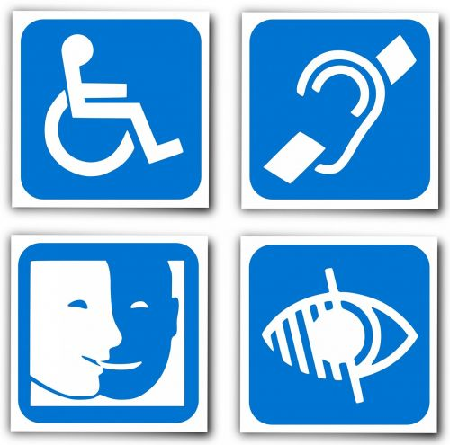handicap logo deaf