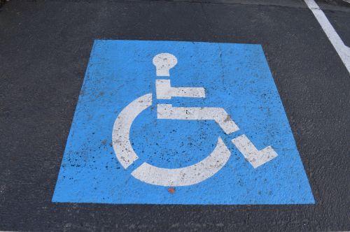 handicap ada parking space