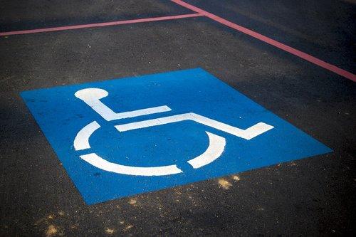 handicap parking  sign  disable