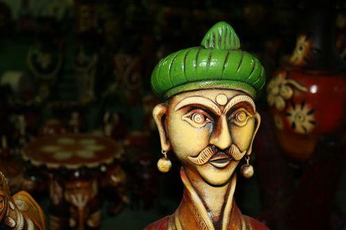 handicraft figure green