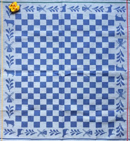 handkerchief background dutch