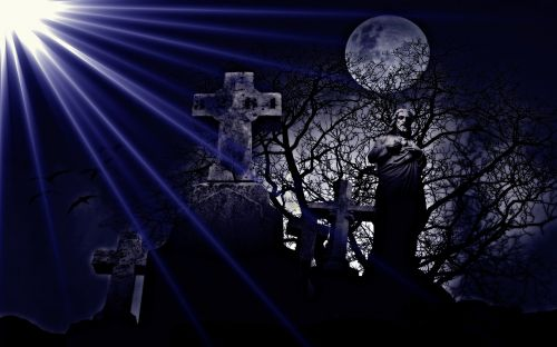 handling cemetery fantasy