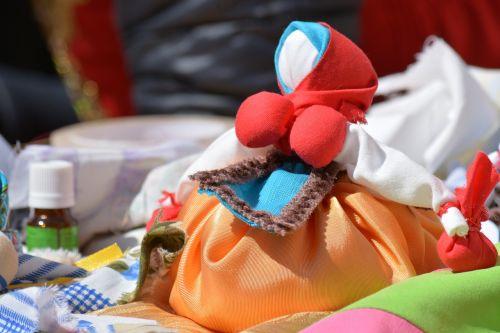 handmade rag doll guardian
