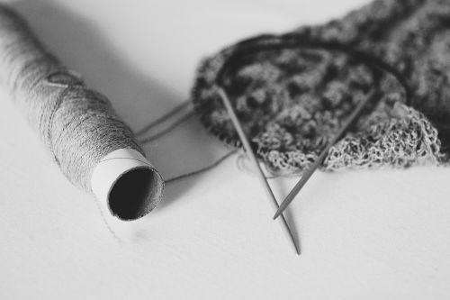 handmade knit knitting