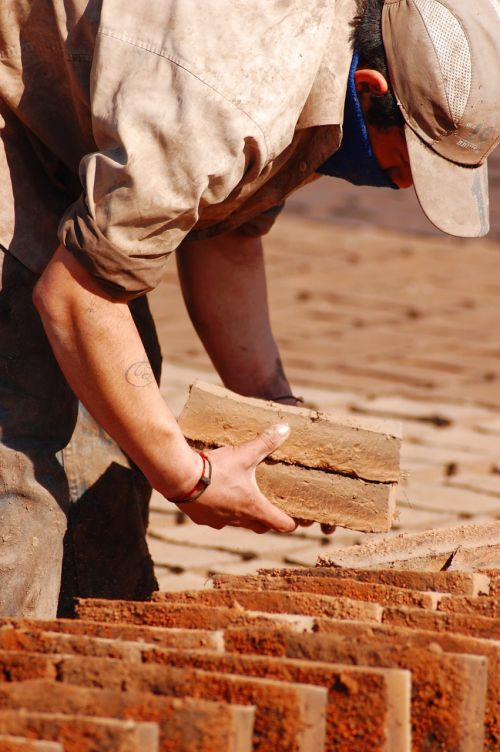 handmade bricks drying bricks handmade