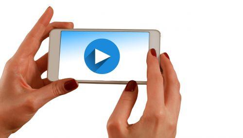 hands smartphone play
