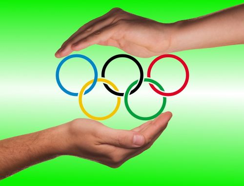hands protection olympic rings