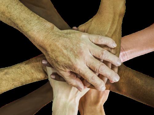 hands teamwork team-spirit