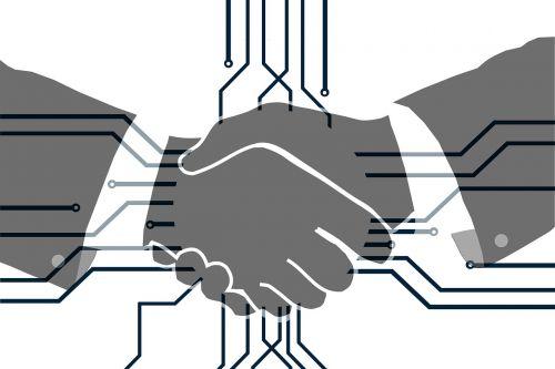 hands shaking hands handshake