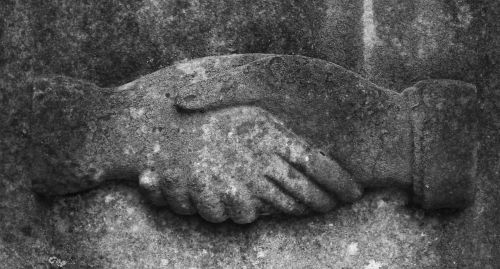 hands monument architecture