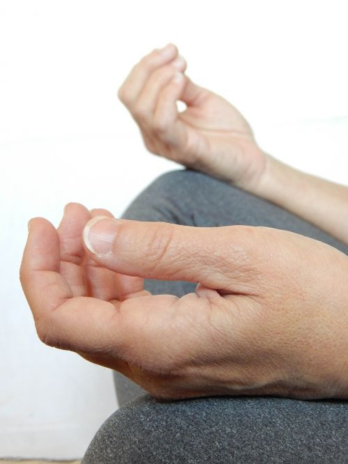 hands meditate meditation