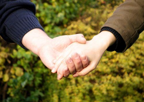 hands hand trust