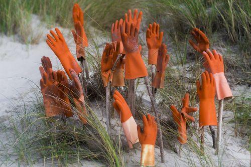 hands gloves work gloves