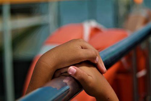 hands detention child