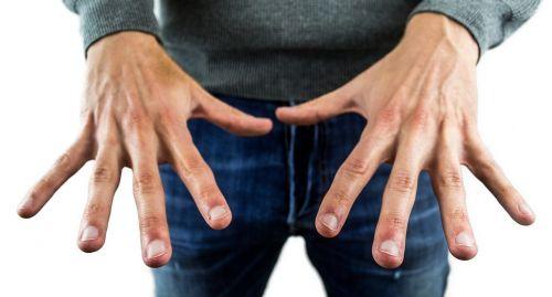 hands fingernails finger