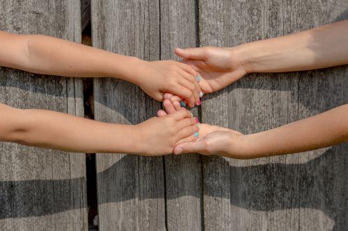 hands friendship friends