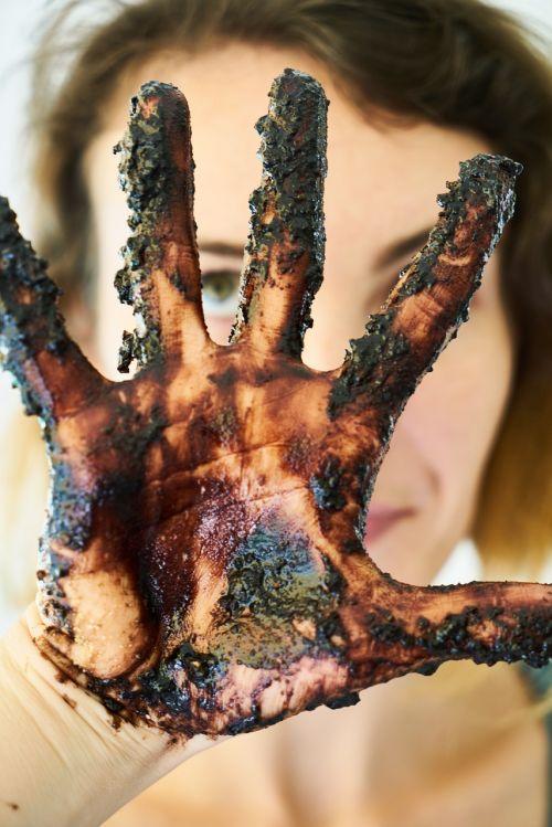 hands chocolate women's