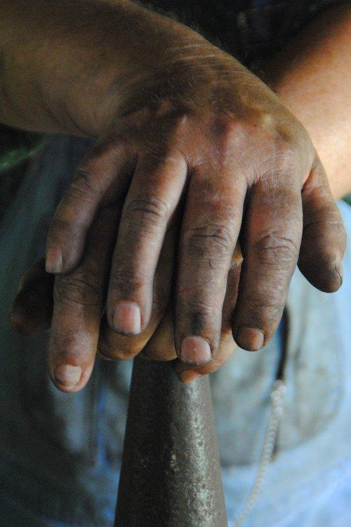 hands  work  ironwork