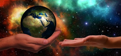 hands  earth  next generation