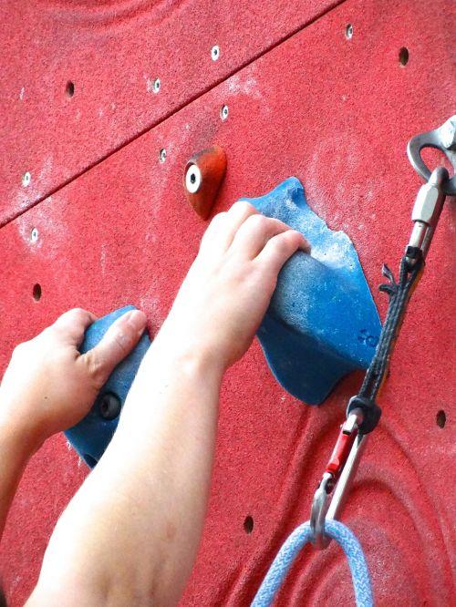 hands climbing hands access