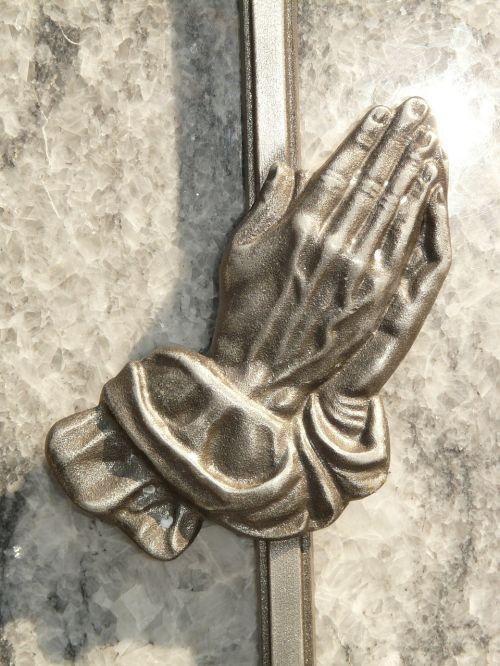 hands prayer hope
